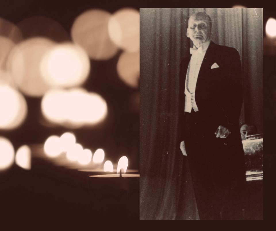 Знайдене обличчя : на день народження легендарного Олександра Вертинського, експонуватимуть його посмертну маску -  - 60386976 2662117727196115 7044150298524254208 n