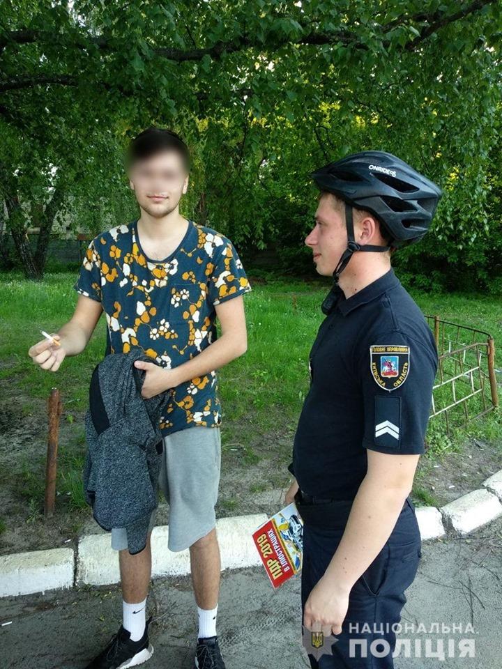У Броварах відновилася робота поліцейських велопатрулів -  - 60409855 2272347402820419 3040598071156146176 n