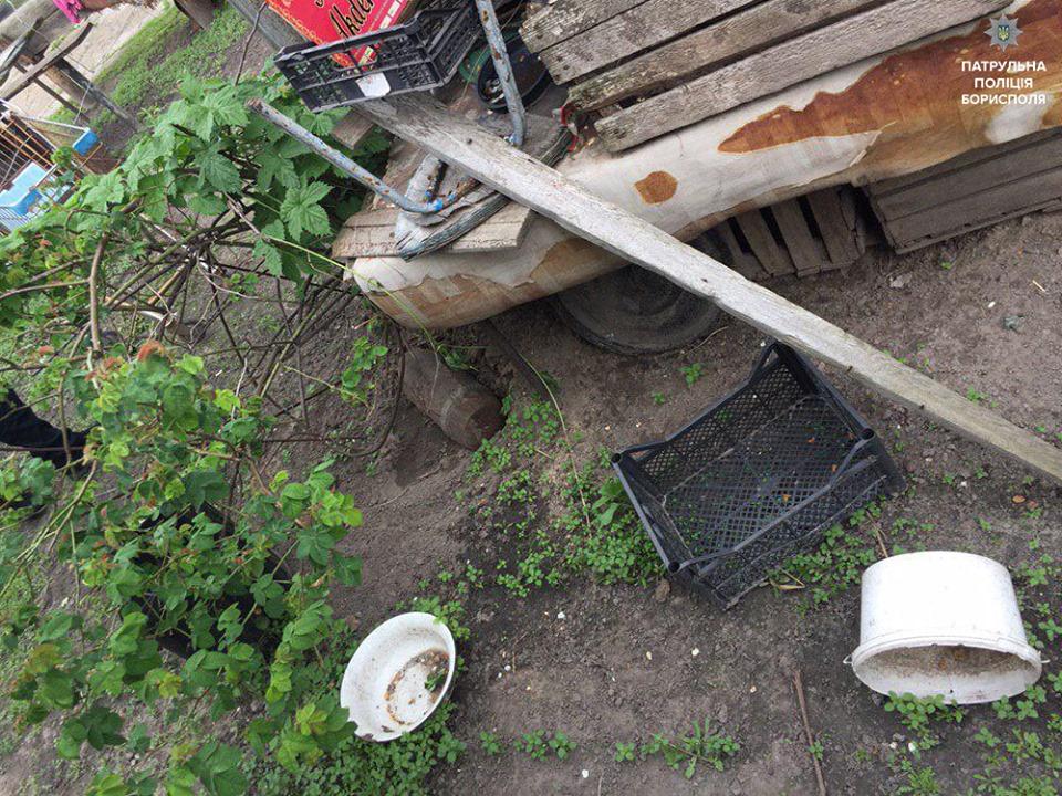 60547605_2399565310265257_156529889829191680_n У Борисполі знайшли 52-мм бетонобійний снаряд часів Другої світової війни