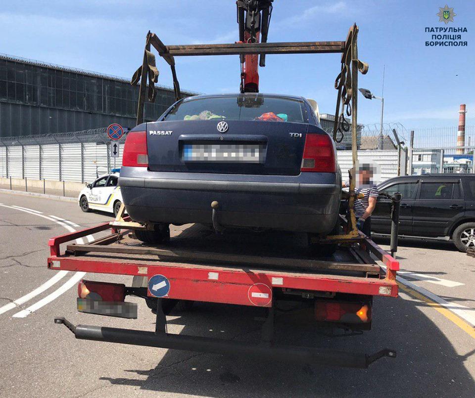 60614158_2403648829856905_35616600417632256_n У Борисполі евакуйовують неправильно припарковані авто