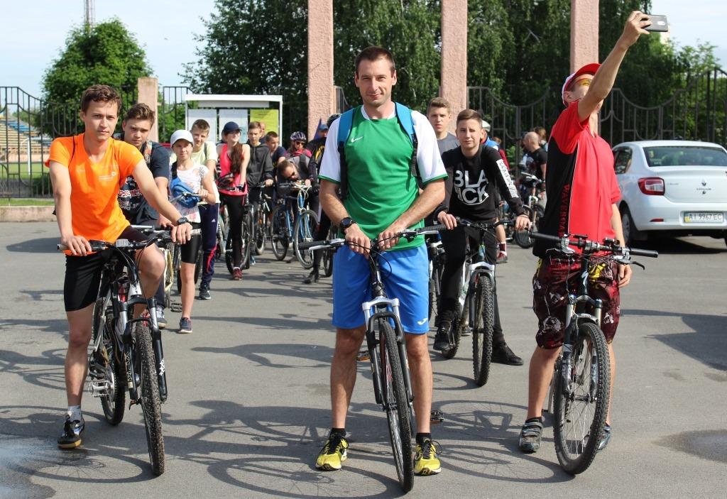 Велосипед – у маси! У Фастові відбувся Велодень - Фастів, велосипед - 60852935 2126914990759928 7754215345828659200 o