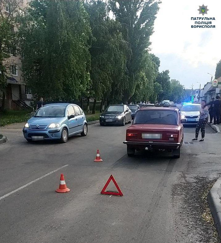 У Борисполі велосипедист зіткнувся із автомобілем ВАЗ -  - 60888233 2401463116742143 3376965281120256000 n