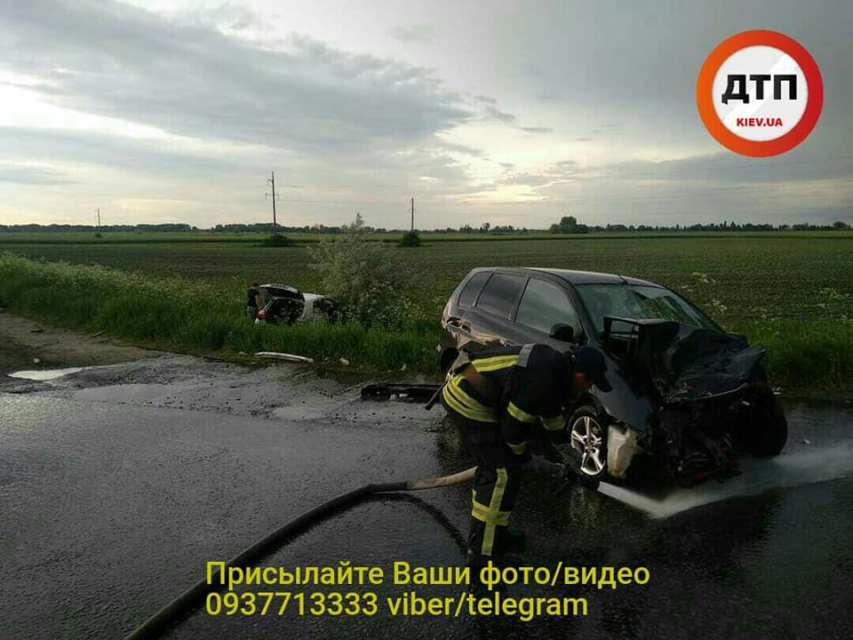 Серйозна ДТП у Борисполі: водія госпіталізували у важкому стані -  - 60975305 1330930277072862 1441511468305481728 n