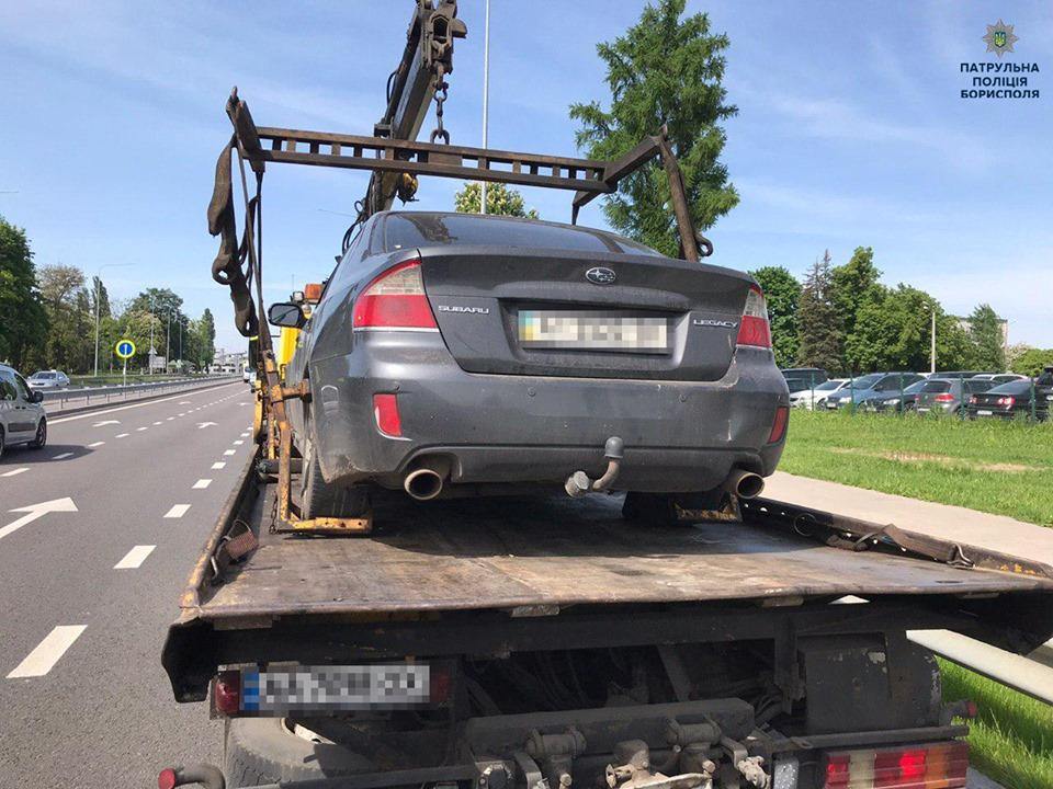 60987445_2403648766523578_5077242430156177408_n У Борисполі евакуйовують неправильно припарковані авто