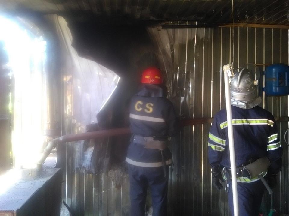 На Броварщині вогнеборцями ліквідовано пожежу на пилорамі -  - 61018988 1282134381936805 3342721704437743616 n