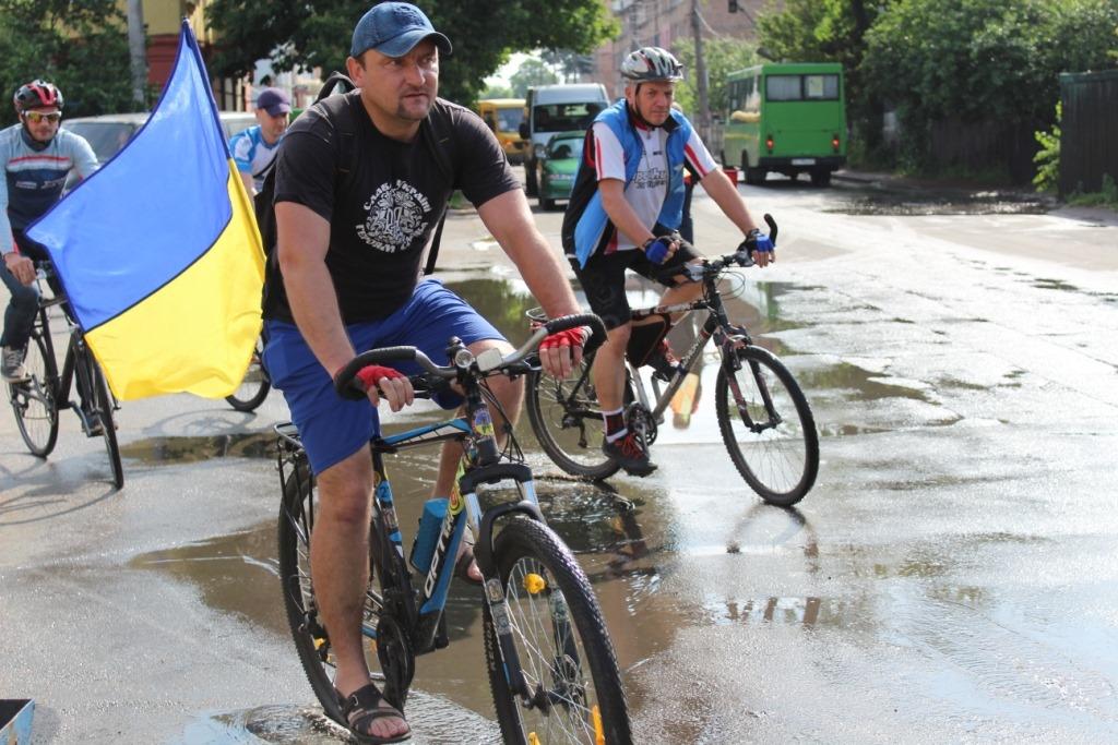 Велосипед – у маси! У Фастові відбувся Велодень - Фастів, велосипед - 61101899 2126916124093148 1347377600632193024 o