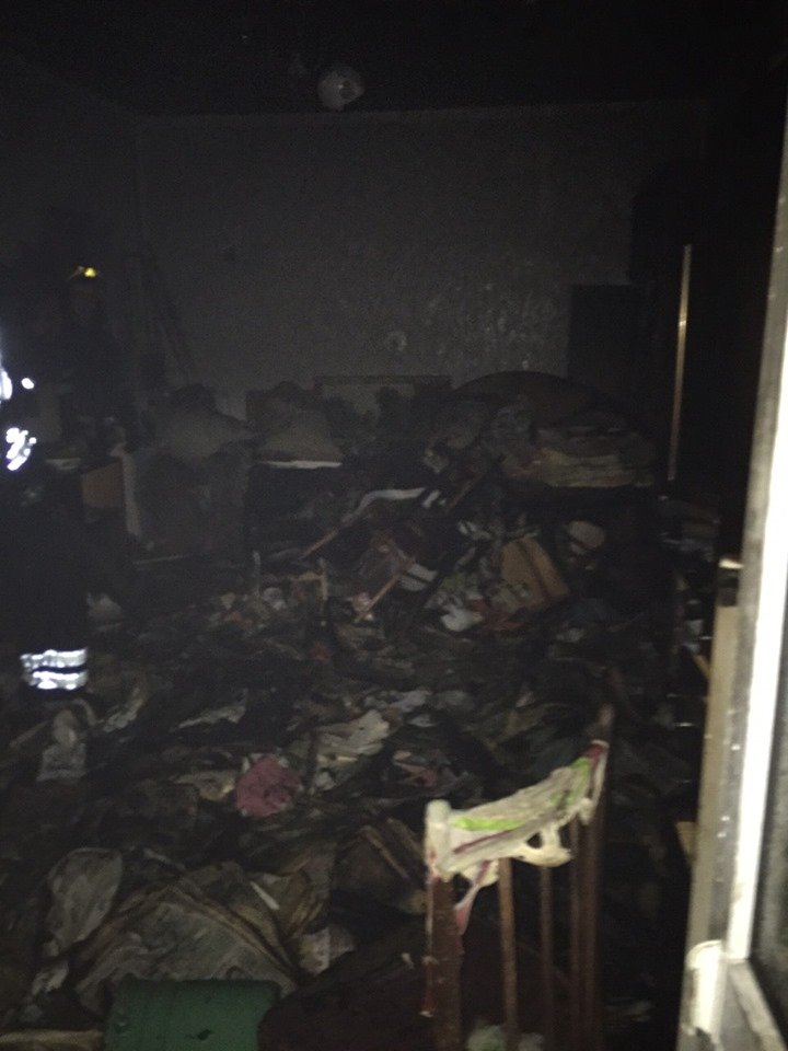 В Броварах у багатоповерхівці горіла квартира зі сміттям -  - 61235020 1284732111677032 9123945274824196096 n
