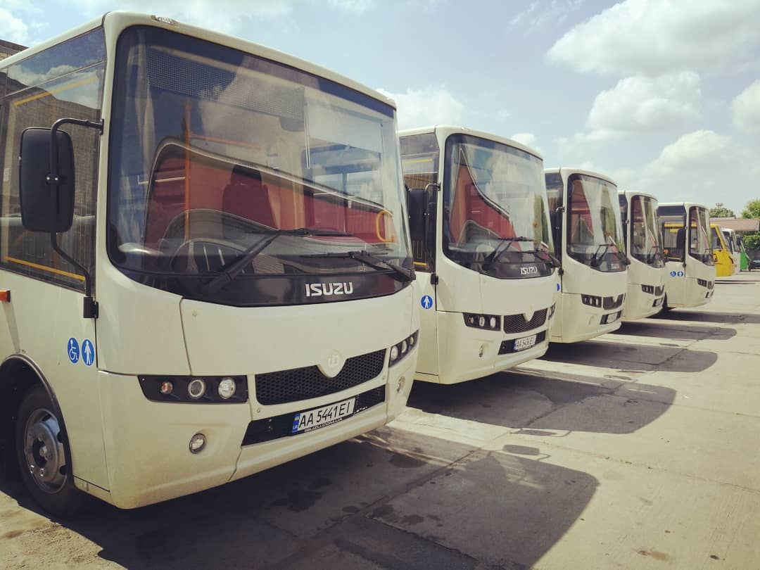 Борисполем їздитимуть іще 5 нових автобусів -  - 61239068 2408490829381090 3350977703444558704 n