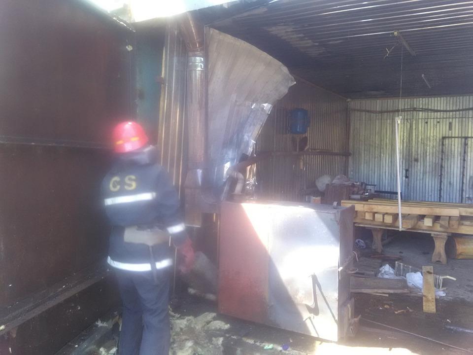 На Броварщині вогнеборцями ліквідовано пожежу на пилорамі -  - 61330704 1282134285270148 5026242450885181440 n