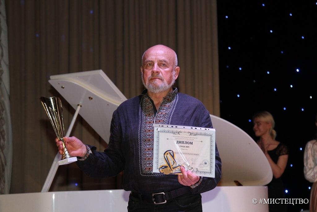 Фастівський скульптор здобув Гран-прі на Всеукраїнському конкурсі «Мистецтво» - Фастів, скульптура, Перемога, всеукраїнський конкурс - 61344383 2365802720143820 3633307870151311360 o