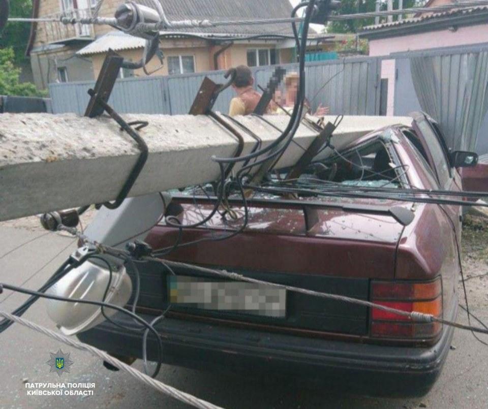 Чоловік, який зніс електроопору в Борисполі був п'яним -  - 61352938 1414795238694065 4555026607995092992 n
