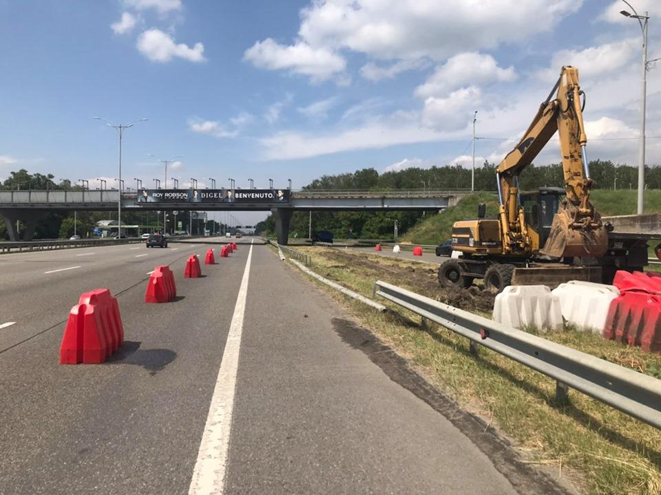 Увага водії! Розпочинається ремонт на  автомагістралі Київ-Бориспіль -  - 61492499 688661874901186 4372634405089312768 n