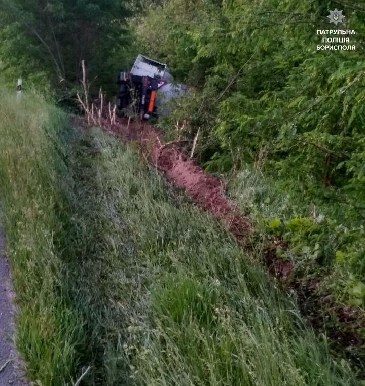 Патрульні покарали водія вантажівки, який заснув за кермом -  - 61693144 2410345519187236 5975498929893015552 n