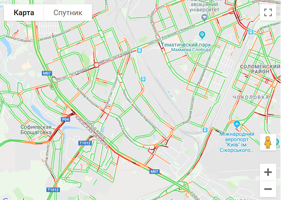 У Києві страшенні затори на дорогах -  - 68798ui