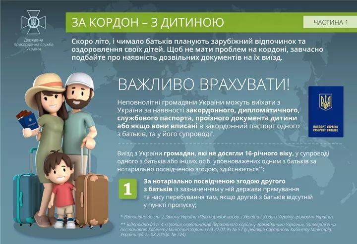 Незабаром – канікули: поради щодо виїзду дітей за кордон -  - FB IMG 1557463962759