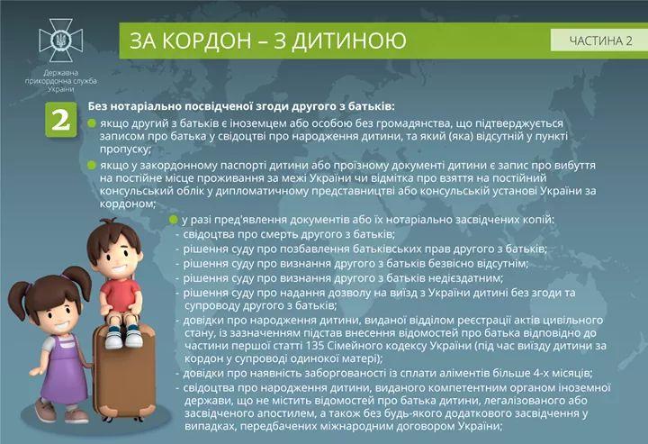 Незабаром – канікули: поради щодо виїзду дітей за кордон -  - FB IMG 1557463968037