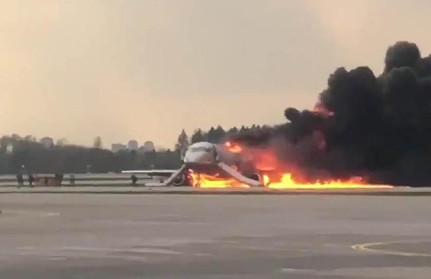 41 людина загинула під час пожежі літака -  - KMO 141501 04270 1 t222 204508