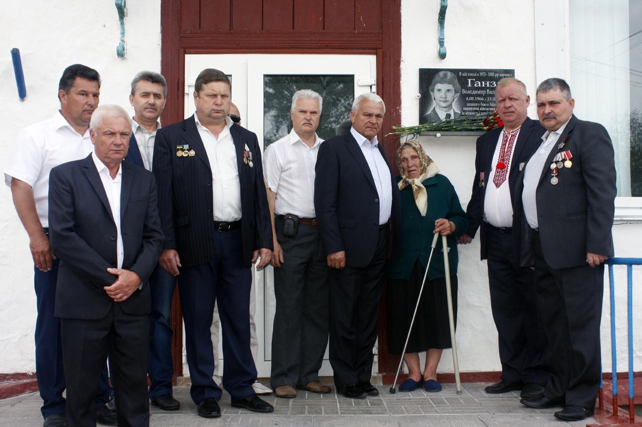 MG_1720 На Переяславщині під час шкільного свята відкрили пам'ятну дошку