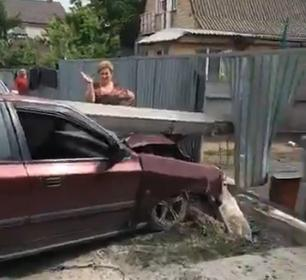 Novyj-rysunok-71 У Борисполі знову водій легковика зніс електроопору