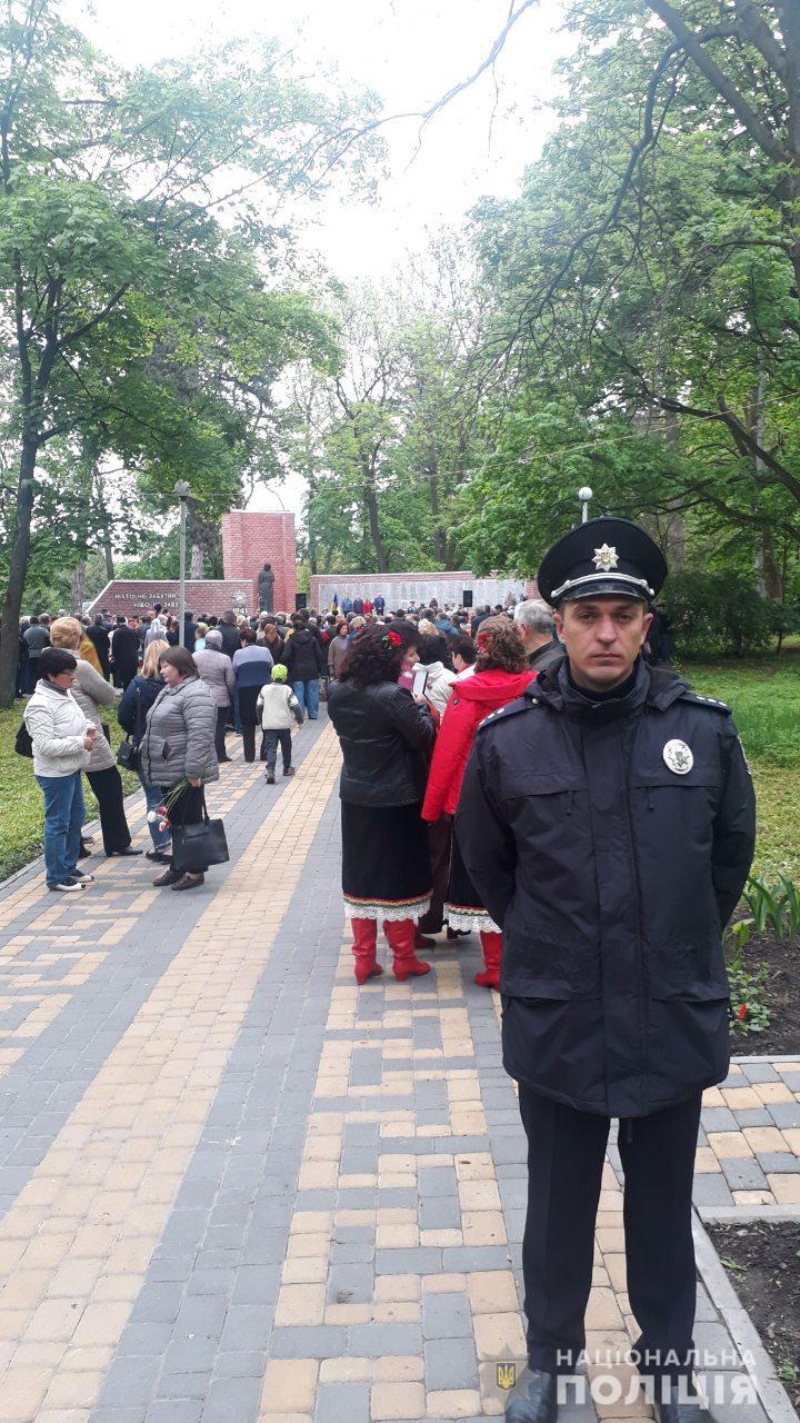 На охорону порядку на Київщині вийшли майже 800 правоохоронців - поліція Київщини, київщина, Друга світова війна, День перемоги над нацизмом - Poliz 9 trav 1