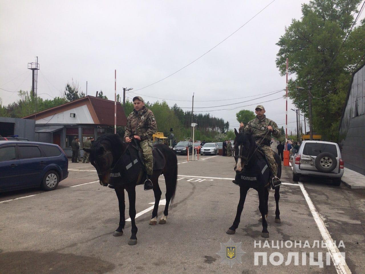 На охорону порядку на Київщині вийшли майже 800 правоохоронців - поліція Київщини, київщина, Друга світова війна, День перемоги над нацизмом - Poliz 9 trav 3