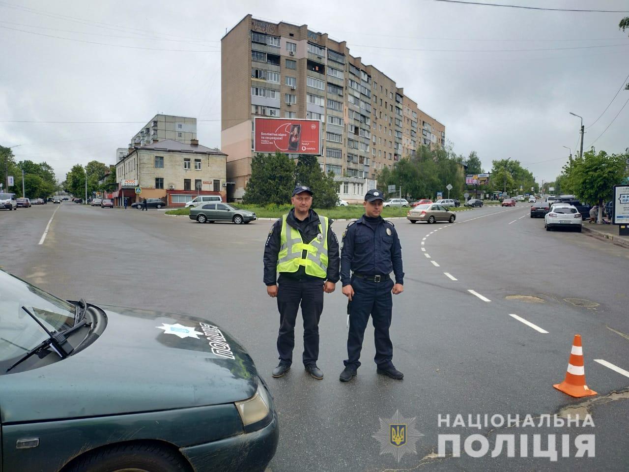 На охорону порядку на Київщині вийшли майже 800 правоохоронців - поліція Київщини, київщина, Друга світова війна, День перемоги над нацизмом - Poliz 9 trav 4