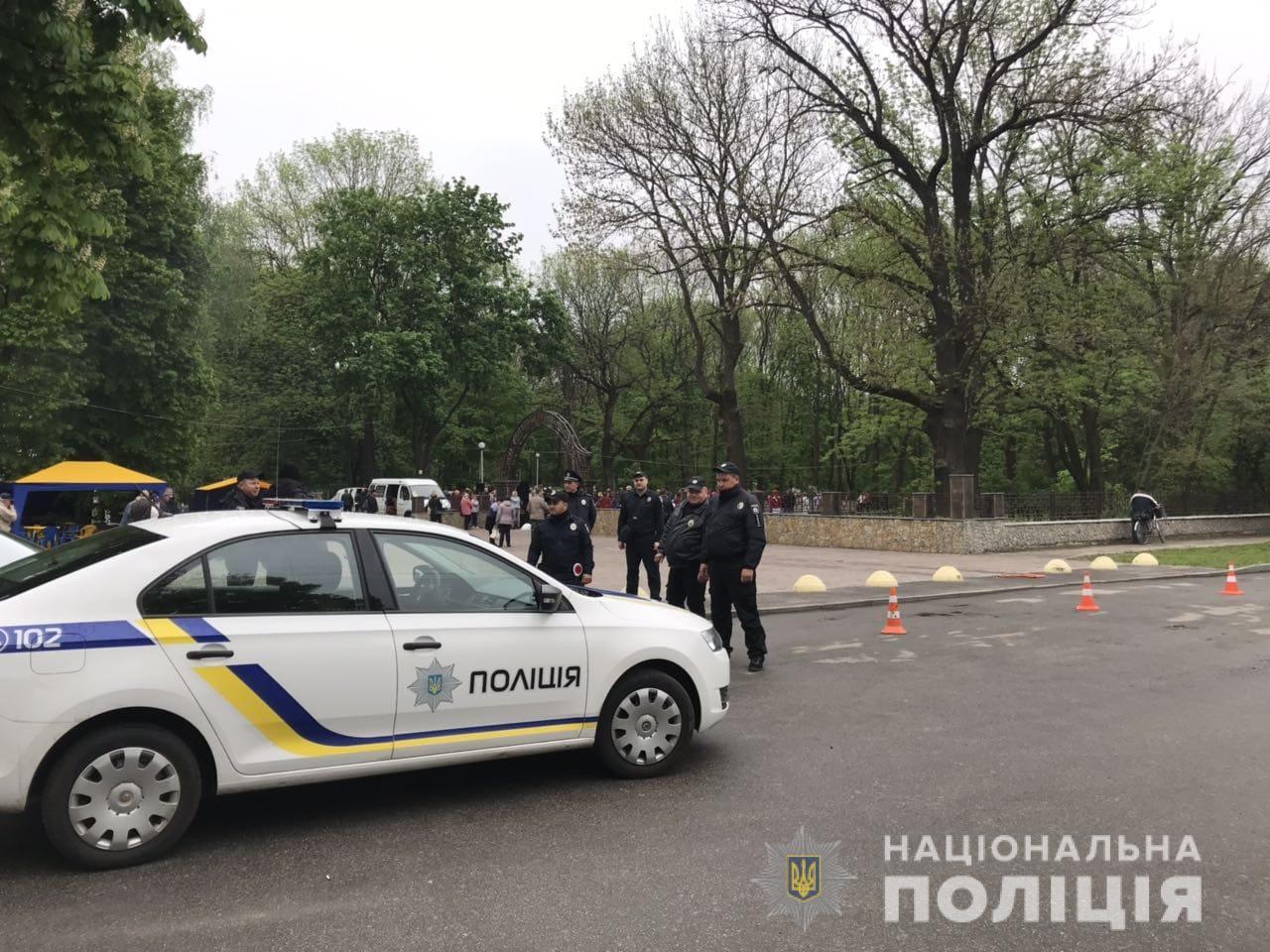 На охорону порядку на Київщині вийшли майже 800 правоохоронців - поліція Київщини, київщина, Друга світова війна, День перемоги над нацизмом - Poliz 9 trav