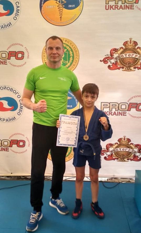 Спортсмен з Броварів - чемпіон України з бойового самбо -  - b sambo