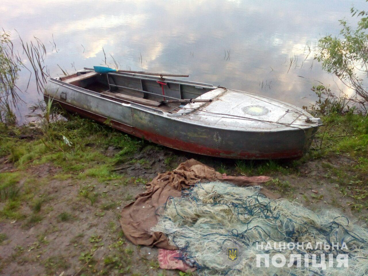 На Броварщині виявлено рибалку-браконьєра
