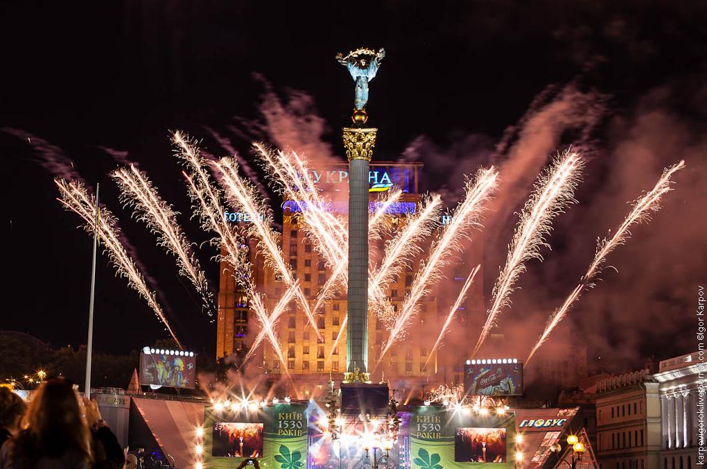 На святкування Дня Києва планують витратити рекордну суму -  - den kieva photo