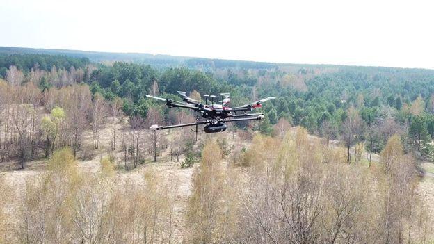 У Чорнобилі працюють дрони з Британії -  - dron