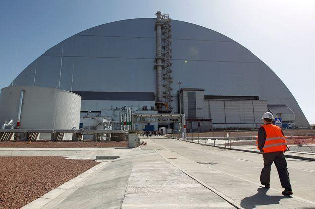 У Чорнобилі працюють дрони з Британії -  - dron3