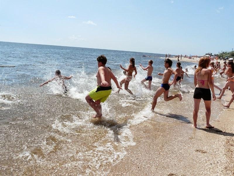 На оздоровлення дітей Борисполя виділено 500 800 грн -  - ozdorovlenye detej u morya