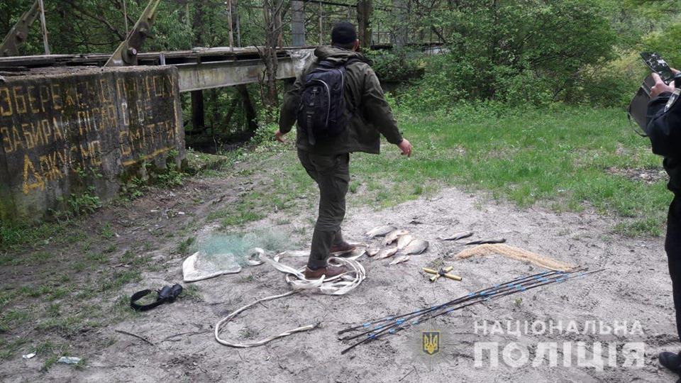 На Бородянщині спіймали браконьєрів із забороненими сітками «Павук» -  - rybaka
