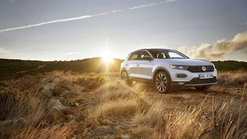 Європейський автобестселер Volkswagen T-Roc виходить на український ринок -  - t roc white