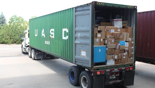 0617_SSHA_Guman3 США відправили в Ірпінський війський шпиталь нове медичне обладнання