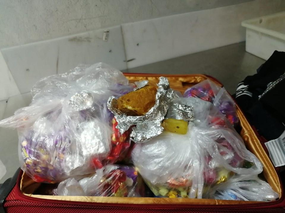Громадянин Китаю намагався вивезти партію бурштину за кордон у цукерках -  - 65256960 1071445233066473 6783406725224464384 n