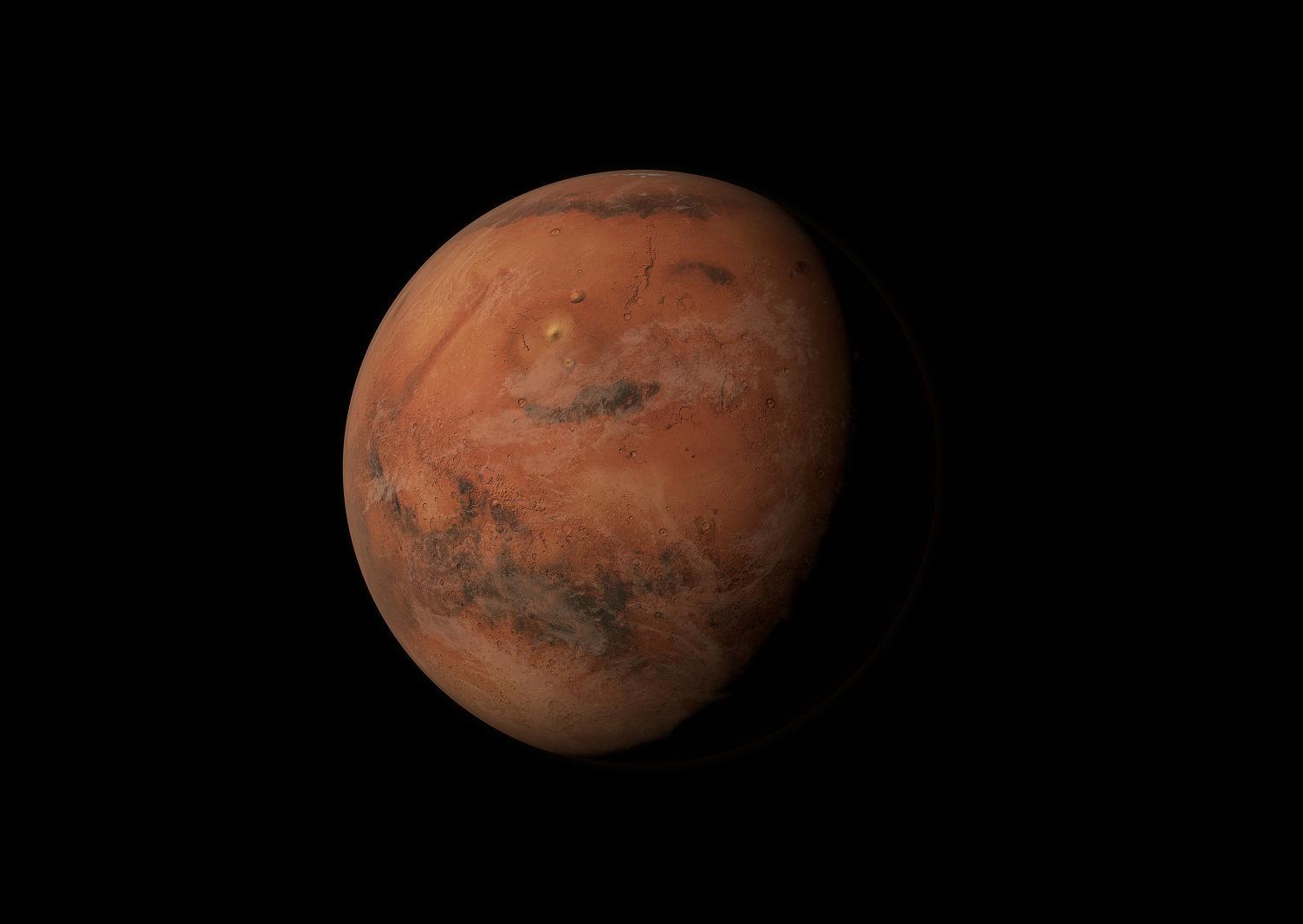 dims-1-7 NASA виявило можливі ознаки життя на Марсі