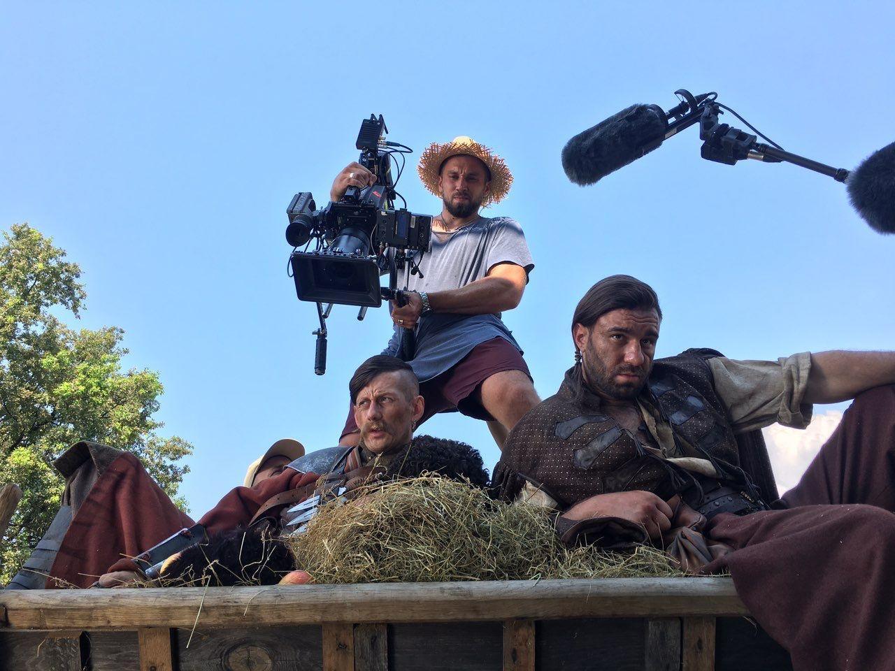 У Пирогові знімають серіал про козаків-супергероїв - Українське козацтво, українське кіно, зйомки - kozactvo serial ictv 2506