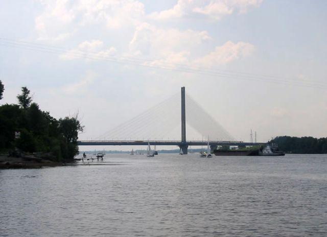 До уваги водіїв: з 31 травня по 4 червня обмежено рух транспорту через Південний міст - Транспорт, Південний міст, обмеження руху - southern bridge 1
