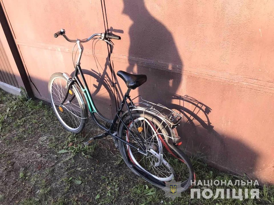 velos На Броварщині мотоцикліст не розминувся з велосипедистом