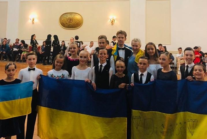 Вишгородські танцюристи зайняли призові місця на конкурсі у Грузії - призові місця, київщина, Вишгород - 0715 Diamond21 obriz