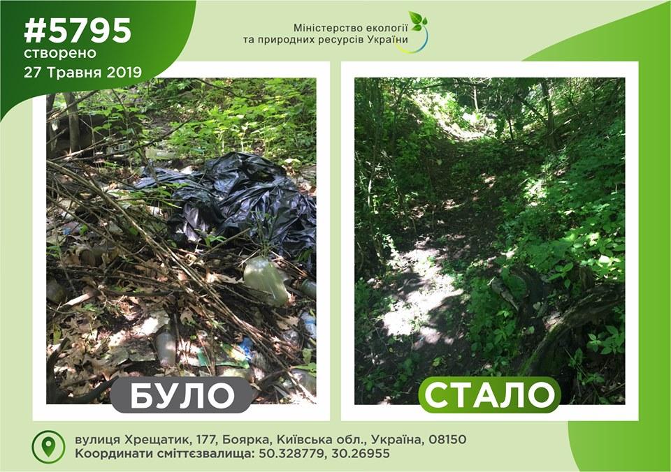11_smittya2 Найзасміченіші місця на Київщині прибирають: в Мінекології оприлюднили світлини ДО та ПІСЛЯ