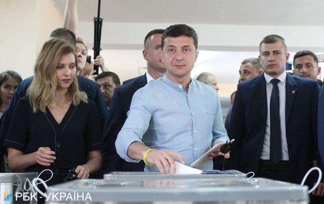 21_zelenskyj Хроніка парламентських виборів 2019