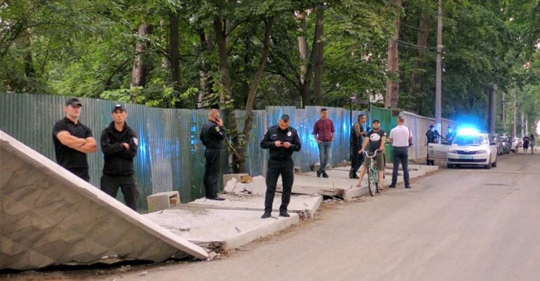 DSO-poliz-1 Головний поліціянт Київщини Андрій Нєбитов не бачить «Ірпінського Чикаго»?