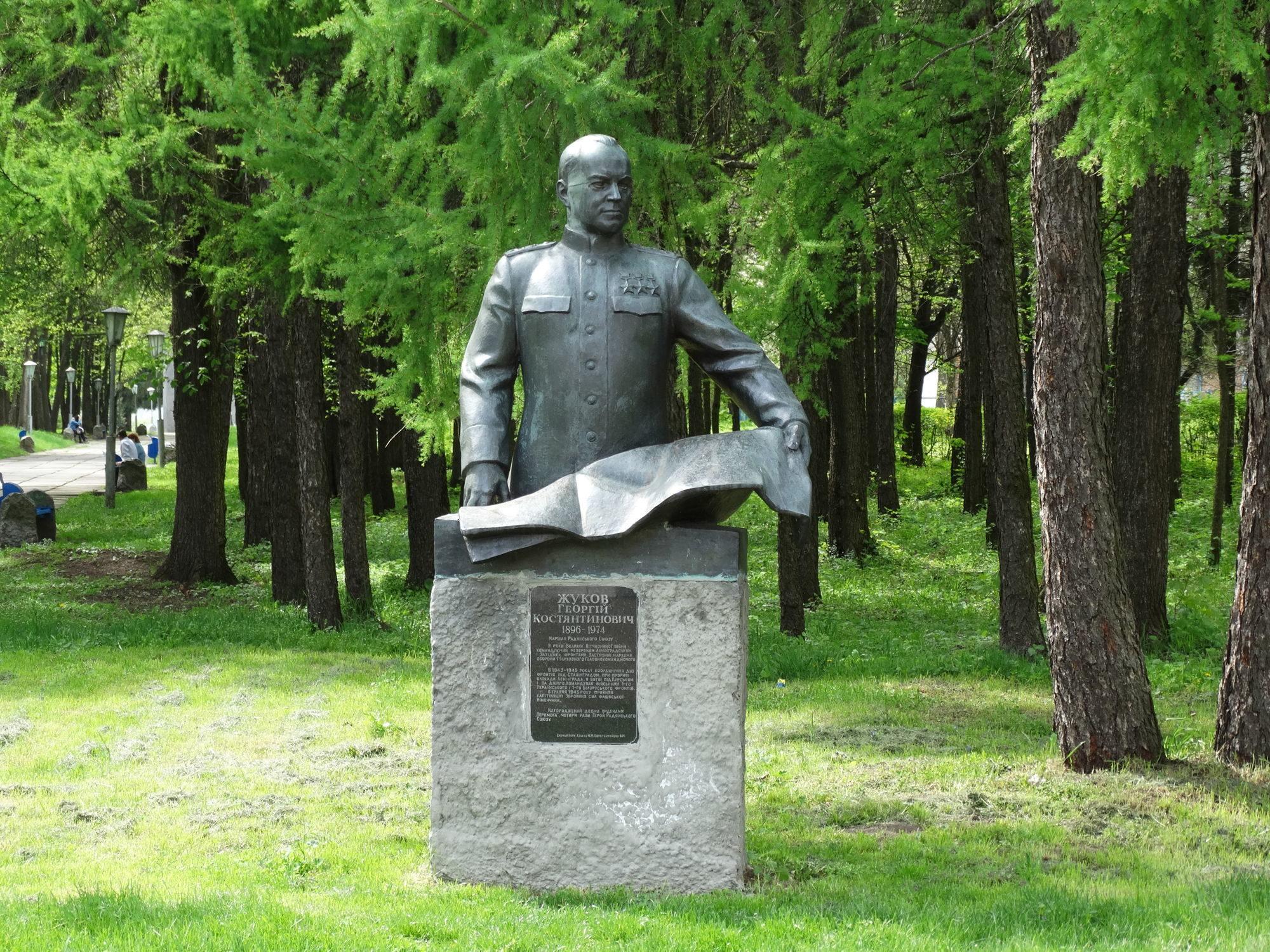 У Яготині демонтують пам'ятник Жукову -  - big 56c30e2aff9367507f024817 56c47e7f8d02e 1bc8vk0 2000x1500