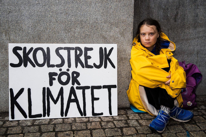 16-річна еко-активістка, яку номінували на Нобелівську премію миру, перепливе Атлантику на яхті - Нобелівська премія, Грета Тунберг - 01 ekoaktyvystka