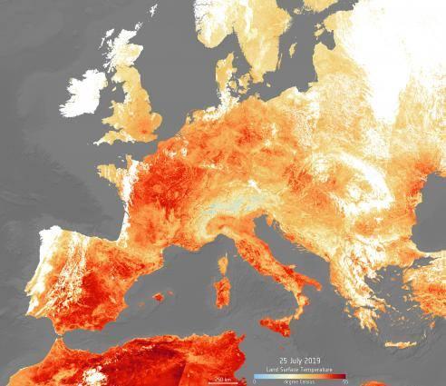 2019 рік може увійти в ТОП-5 найтепліших за всю історію спостережень - потепління, клімат, зміна клімату, глобальні зміни клімату, глобальне потепління - 06 klymat