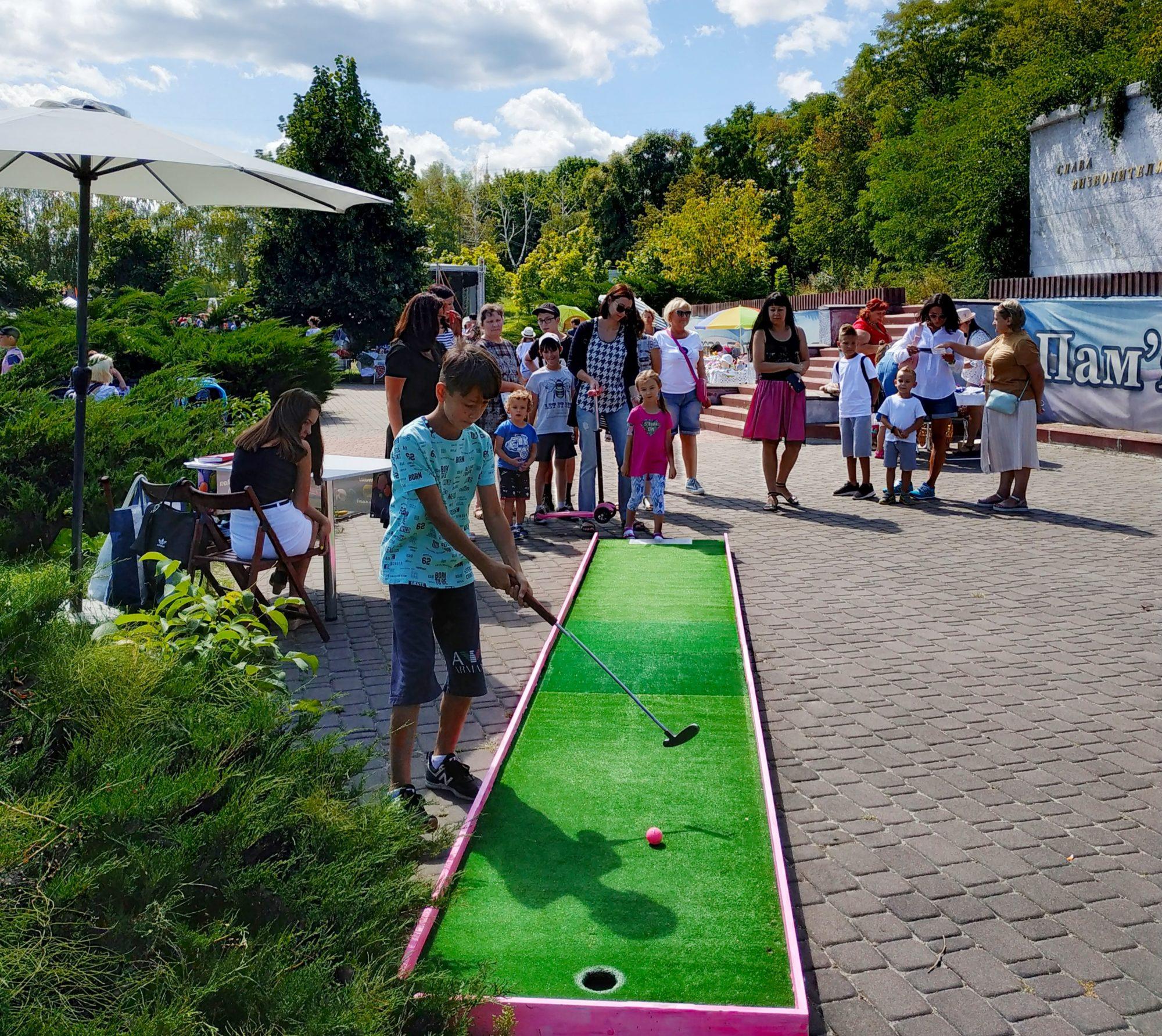 «Свято родинних традицій» у Вишгороді зібрало друзів і партнерів - Фестиваль, Вишгород - 0810 Ro Trad golf 2000x1783