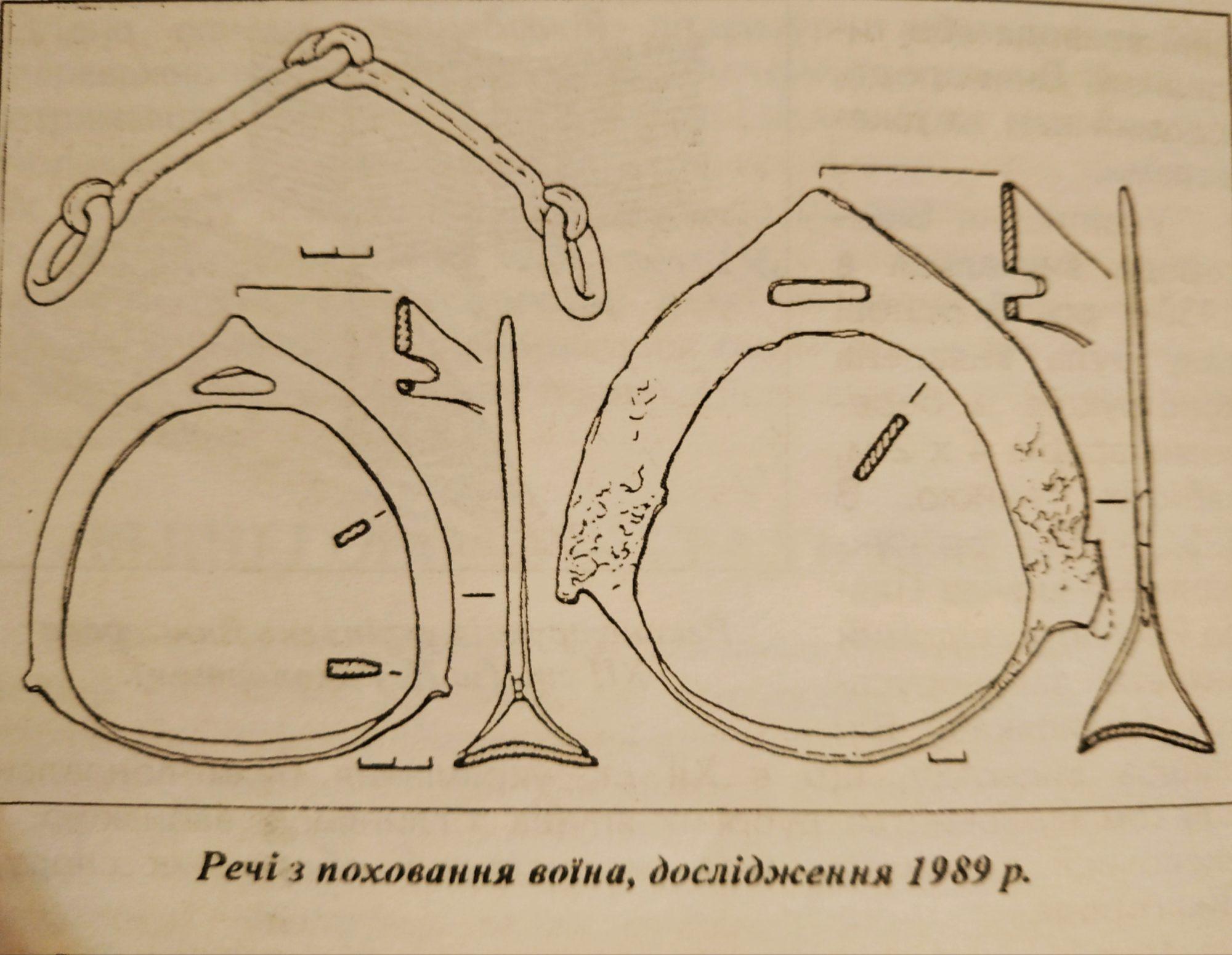 Археологічні дослідження: у княжій дружині Х-ХІІІ ст. служили воїни-кочовики - поховання, київщина, воїни, Вишгород, археологічні розкопки, QR-код - 0814 Pohovannya CHorniKlob1 2000x1550